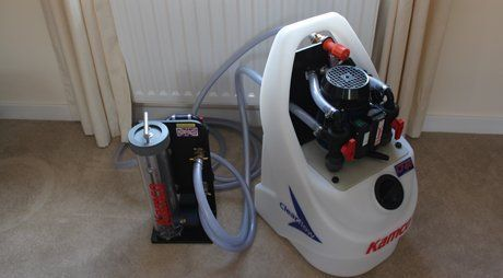 equipment for power flushing