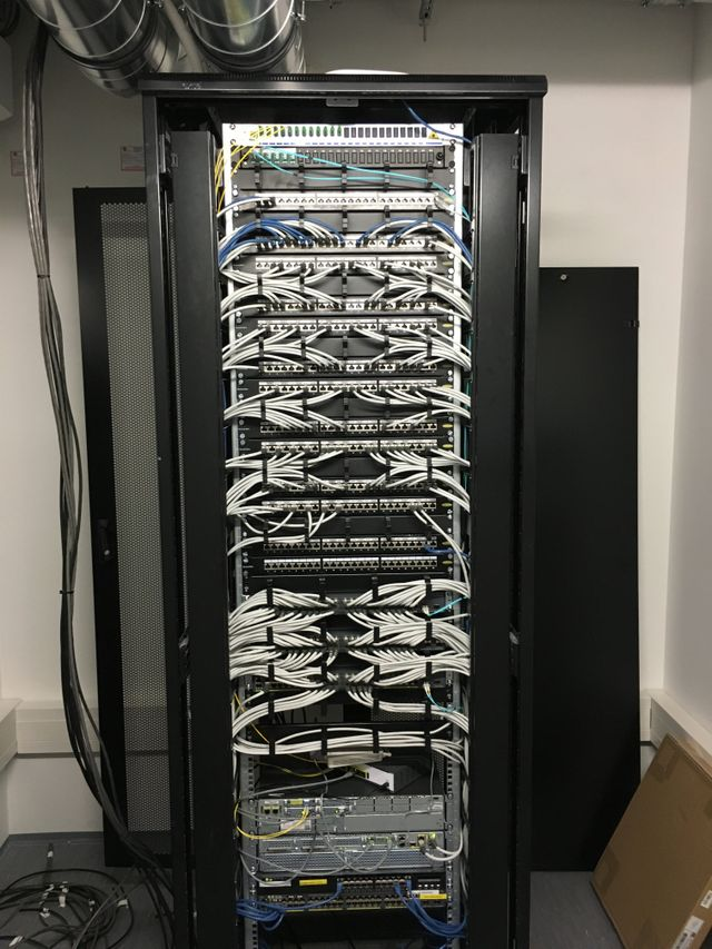 data cable installation