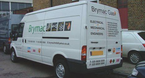 Colourful vehicle graphics
