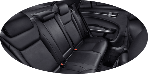 stylish interior of Chrysler 300C Melbourne Airport Pickup
