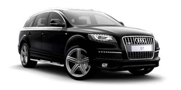 chauffeured Audi Q7 Luxury People Movers and SUVS