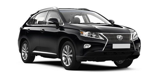 Luxury wedding Lexus RX People Movers SUVS for hire