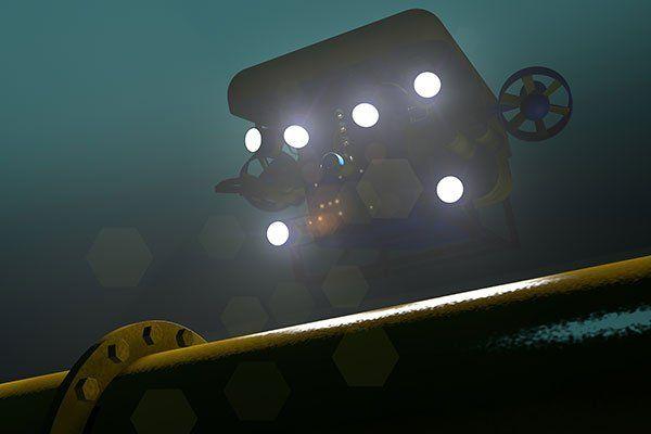 Focolai di illuminazione  sommergibile