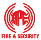 APE Fire and Security logo