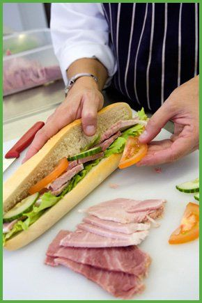Freshly made sandwiches - Caerphilly - A1 Catering Wales Ltd - Buffet food