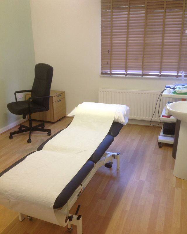 interiors of the physiotherapy clinic