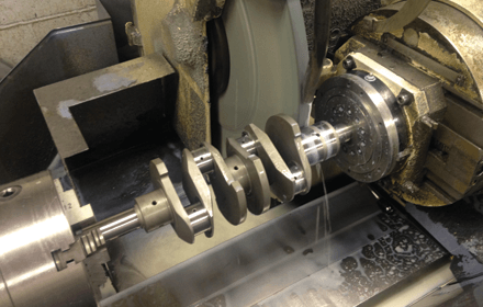 Crankshaft machining experts at Phoenix Crankshafts