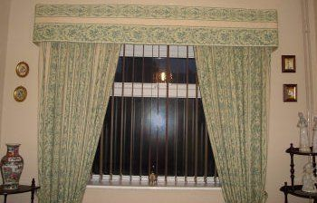 Flooring and curtains