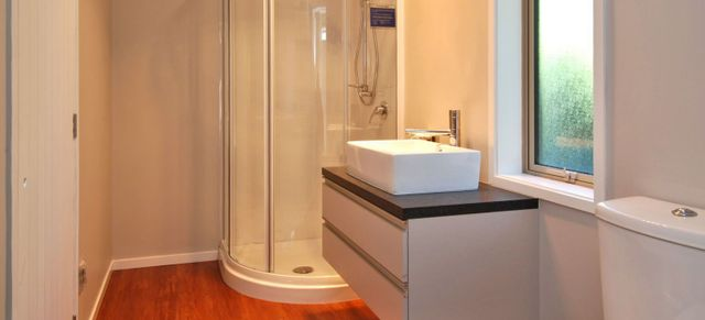 Finished bathroom by builders in Canterbury