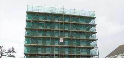 erection of safety netting