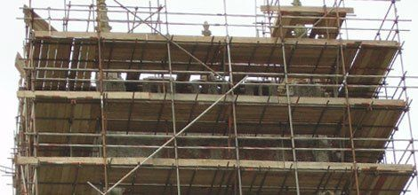 Scaffolding - supply and erection