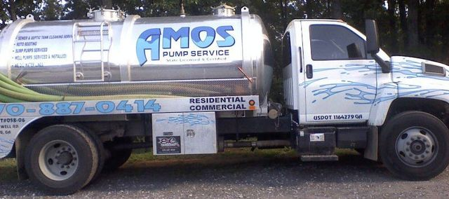 Family Owned Pump Service   Cumming, GA   Amos Pump Service