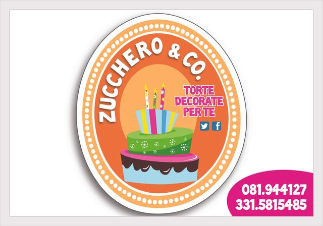 ZUCCHERO & CO - TORTE DECORATE PER TE-logo