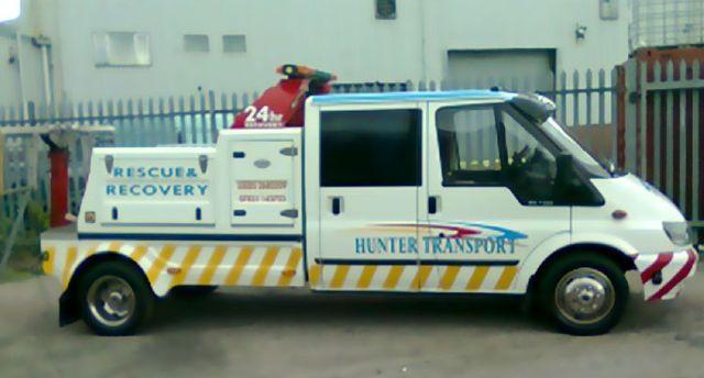 vehicle recovery van