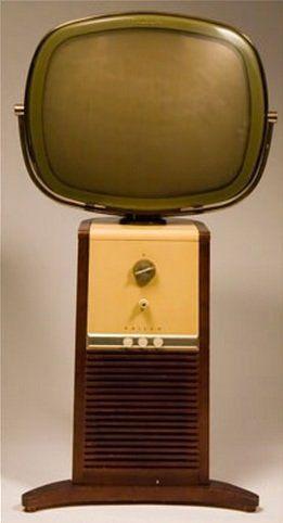 Philco Pedestal 1958, Model 4654