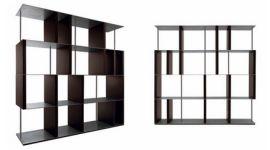 accessori d'arredo in ferro, libreria autoportante in ferro, libreria con lastre di ferro