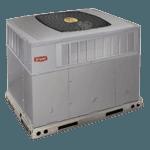Hybrid heat dual fuel package