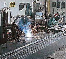 Metal welding for air conditioning repair