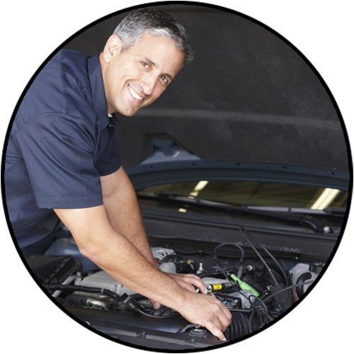 city west automotive mechanic at work
