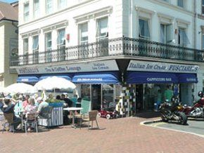 Ice cream - Eastbourne, Sussex - Fusciardi Ice Cream Parlour - Parlour