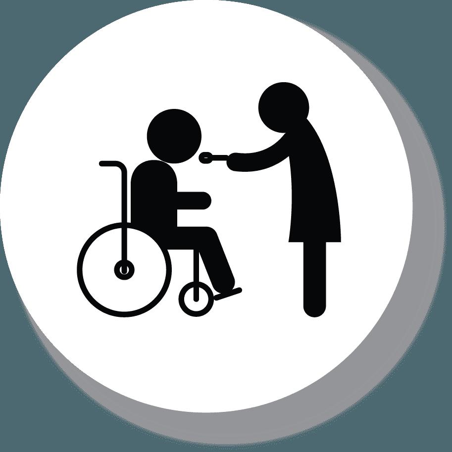 icona dell'assistenza infermieristica