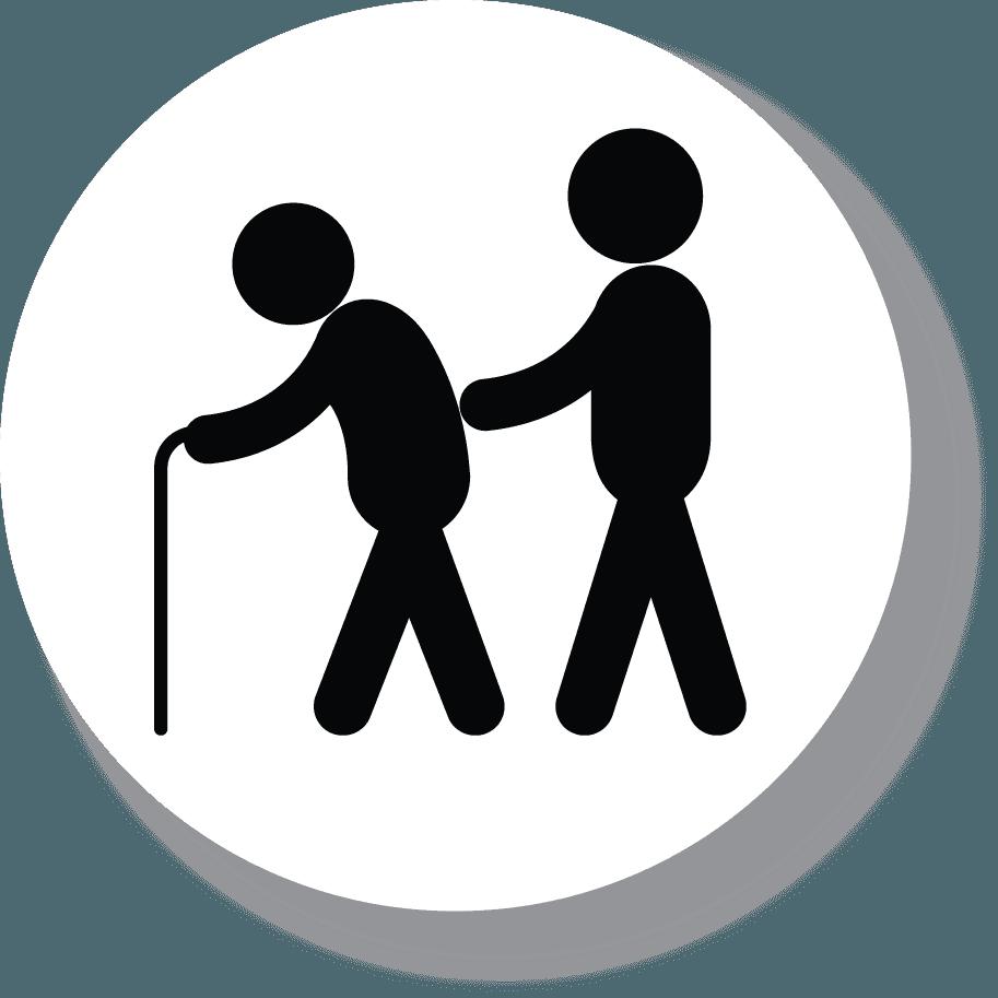 Icona dell'ospizio per anziani