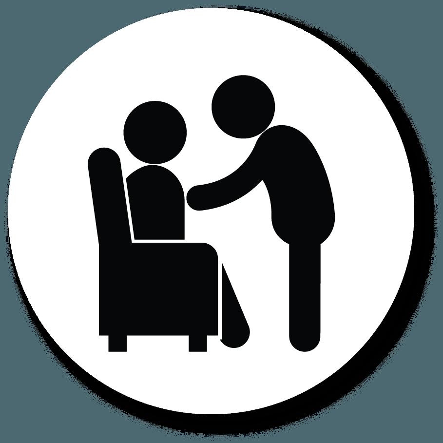 Icona della casa di riposo