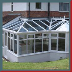 Conservatory glazing work