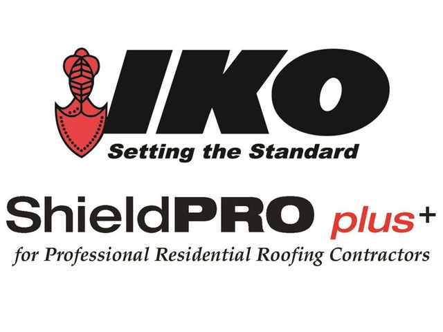 Certified IKO Shield Pro Plus Contractor