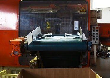 impianto per lavorazione materie plastiche