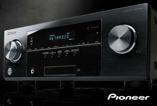 Pioneer music system panel