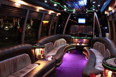party bus with restroom