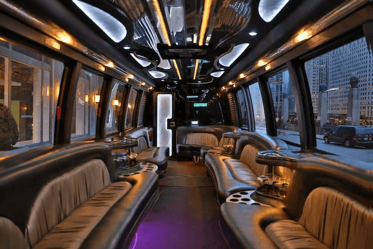 party bus with a restroom chicago party bus with a bathroom. Black Bedroom Furniture Sets. Home Design Ideas