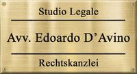 STUDIO LEGALE AVV. D'AVINO EDOARDO - LOGO