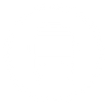 Icon of a train with round model border