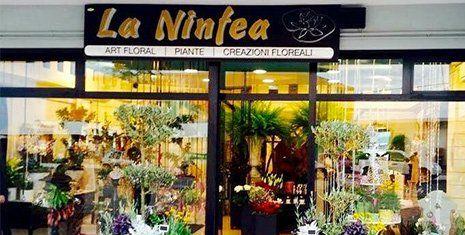Esterno del negozio La Ninfea di Borgo Sabotino
