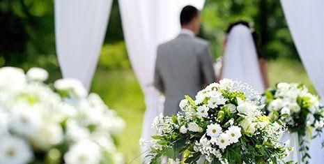 Allestimenti floreali per matrimoni a Borgo Sabotino