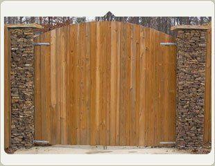 custom gates entry