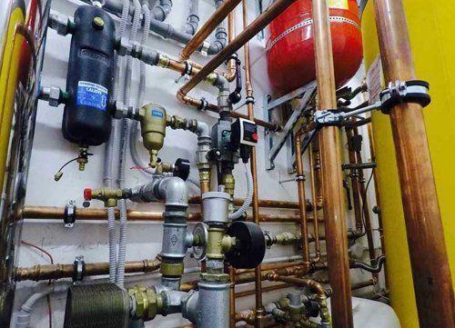 impianto di termoidraulica