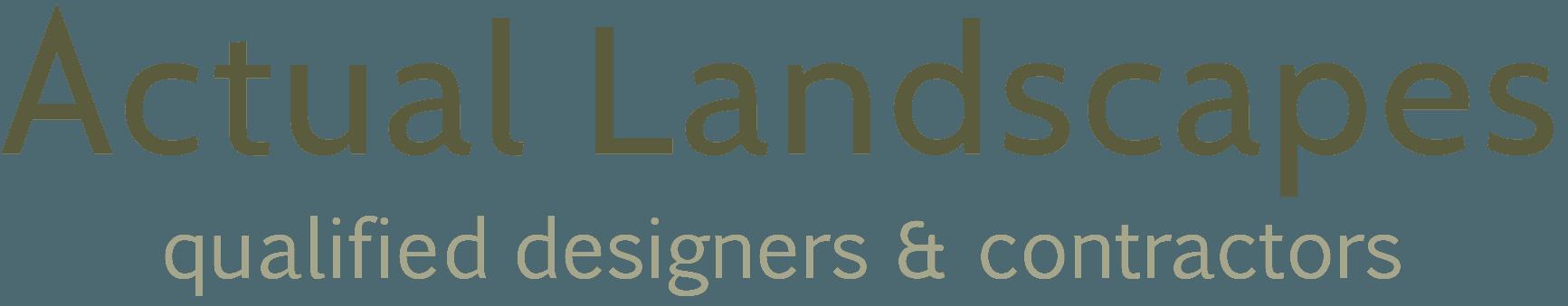 Actual landscapers logo