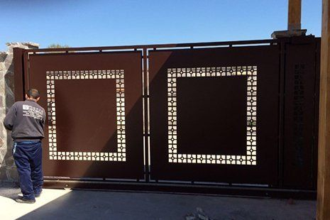 cancello di ferro