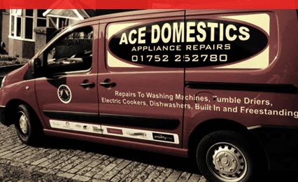 Ace Domestics van