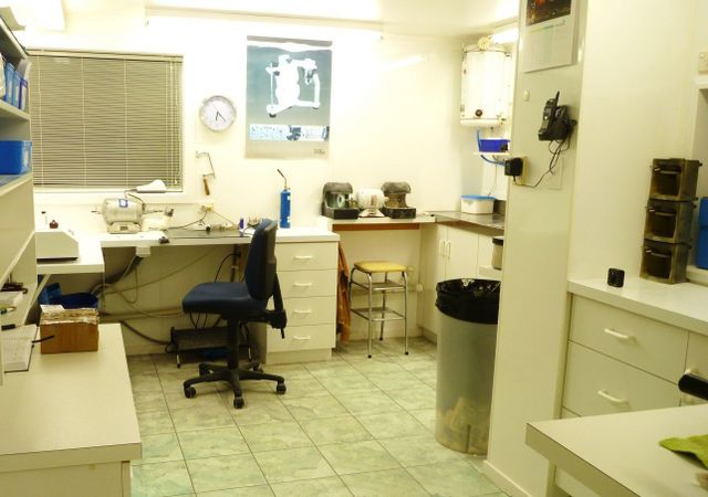 Inside of denture clinic