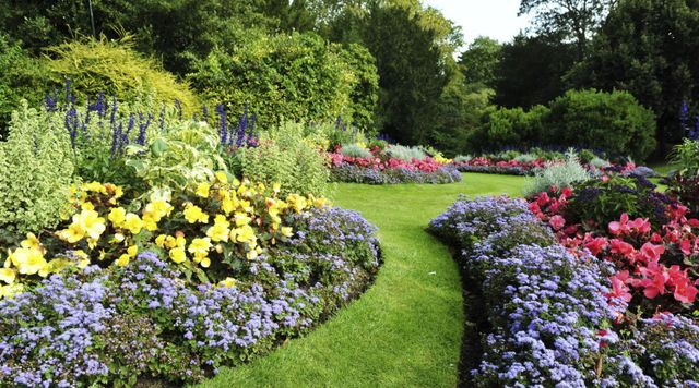 Residential landscaping with flowers in Warwick, NY
