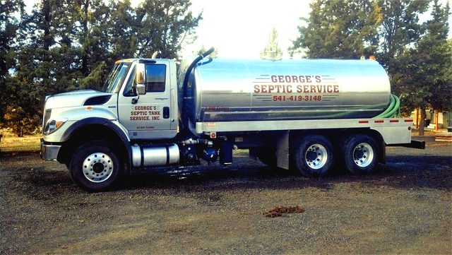 Bend and Central Oregon Septic Tank Maintenance - George's