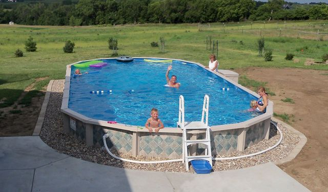Finance Swimming Pools : Above ground pool supplies hampstead nh family pools