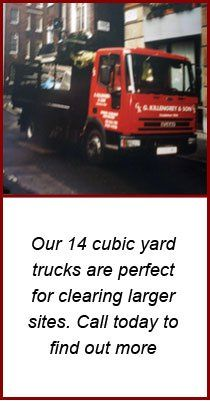 Office clearance - London, Home Counties - G Killengrey and Son - Red truck