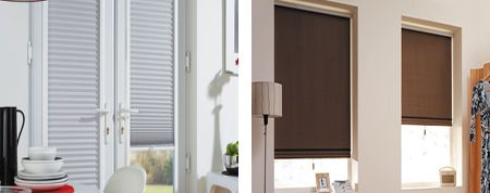 blinds with pleats