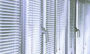 Venetian blind installation