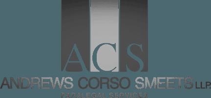Andrews Corso Smeets Paralegal Services